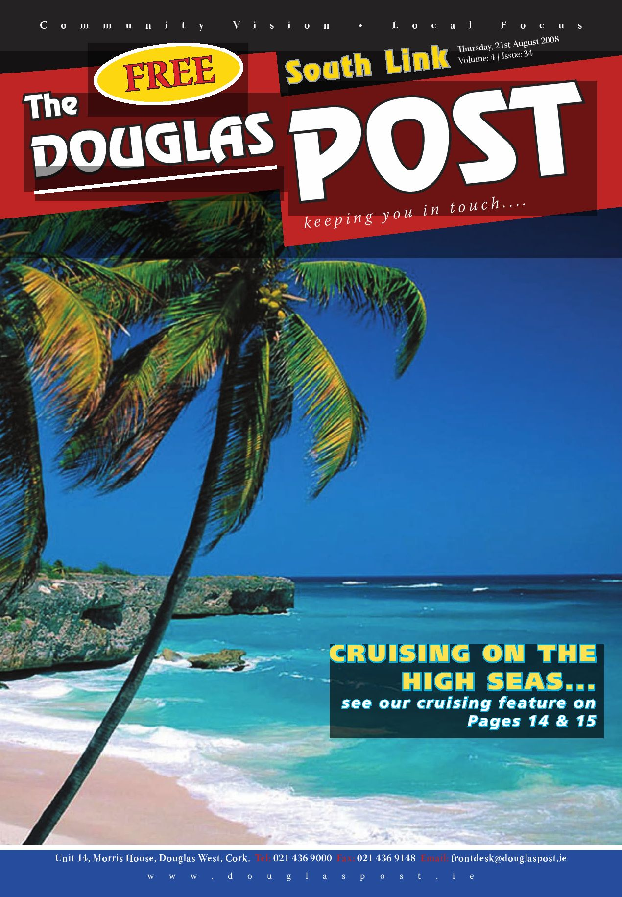 Page 1 of magazine (Front cover/page)