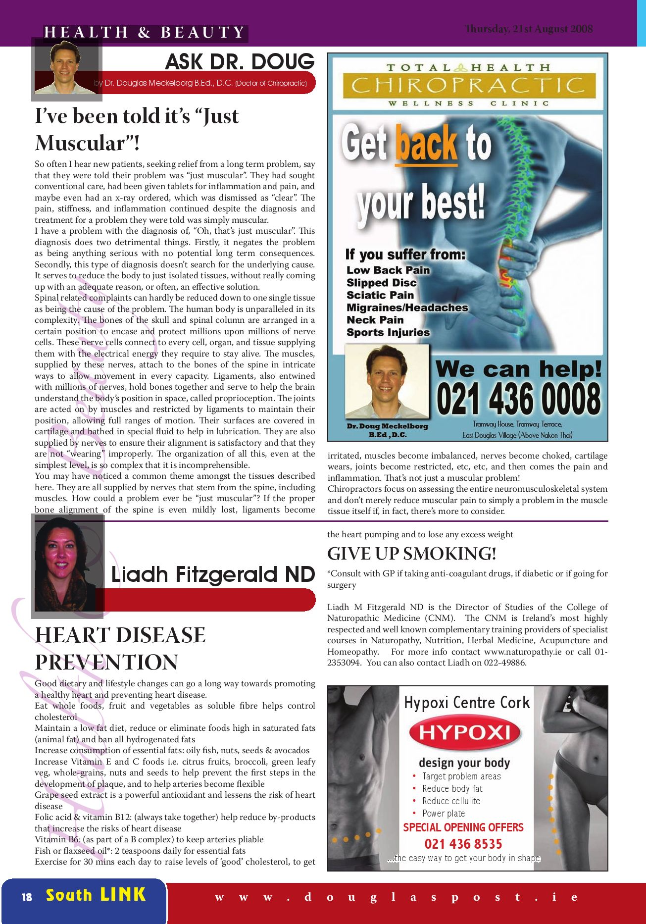 Page 18 of magazine