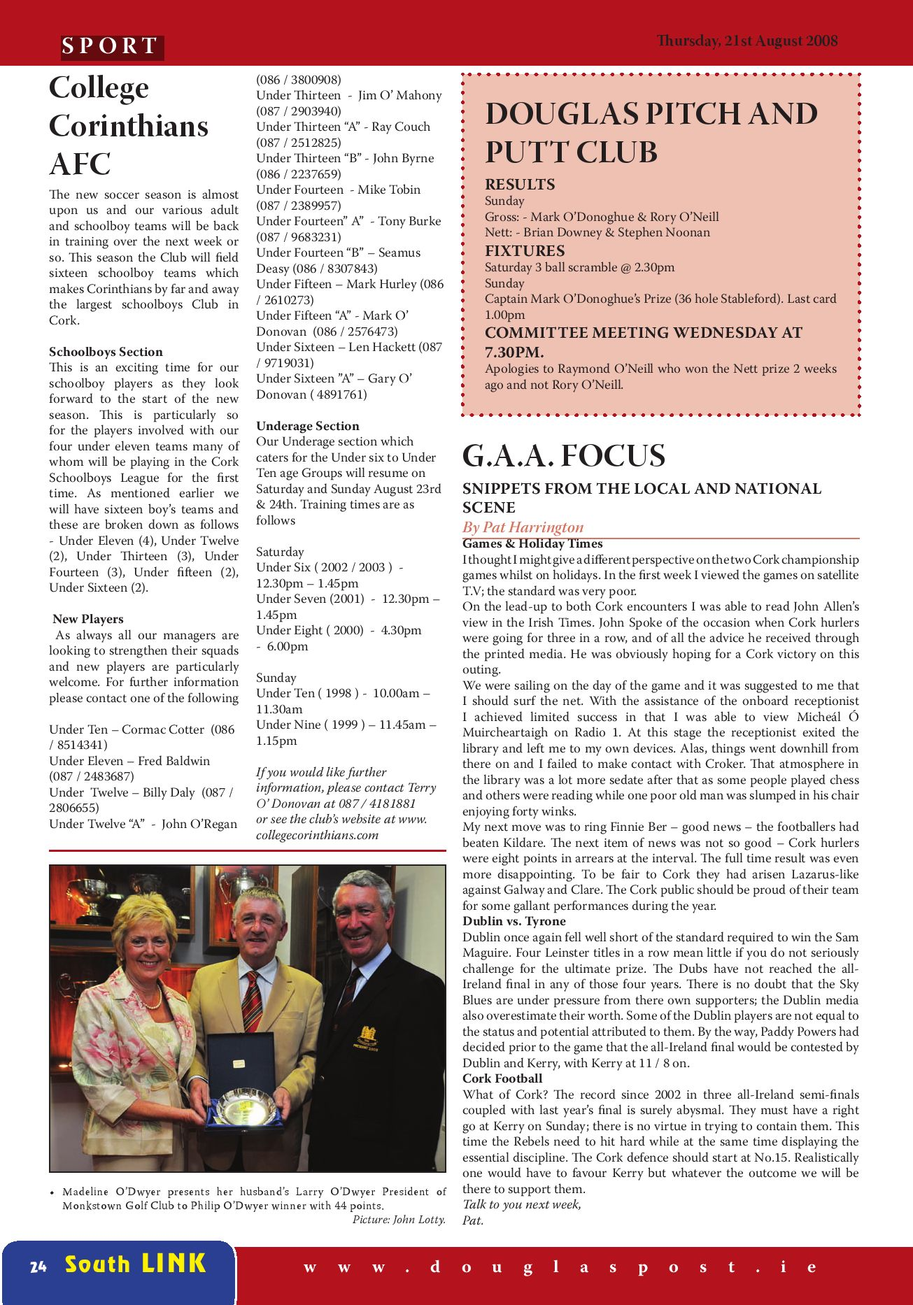 Page 24 of magazine (Back cover/page)